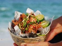 food recipes, peppers, luke nguyen, tiger prawn, pepper tiger