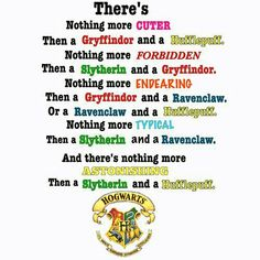 It's actually not astonishing to see a Snake and puff together that's just what Gryffindors think so I can tell this was made by a Gryffindor because anyone with half a brain could see that some of this stuff isn't in the right description
