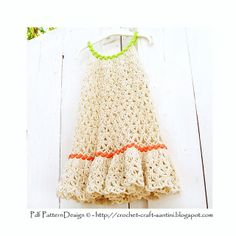 Ravelry: Chain-Lace Flower Dress pattern by Ingunn Santini