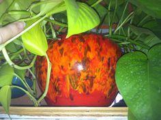 Frank Moreno unmarked drip glaze planter