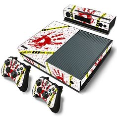 FriendlyTomato Xbox One Console and Controller Skin Set Blood Crime Scene Xbox One Vinyl * Click image for more details.Note:It is affiliate link to Amazon.