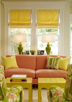 1000 Images About Yellow N Orange Living Spaces On