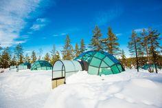 The Kakslauttanen Arctic Resort in Saariselkä, Finland   38 Pictures From The Most Bizarre Hotels Around The World