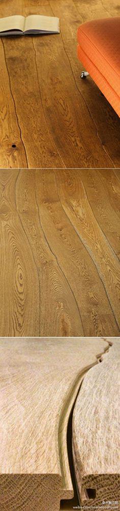 wood floor- pretty cool!