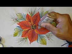 YouTube One Stroke Painting, Painting Tips, Painting & Drawing, Donna Dewberry Painting, Paint Shirts, Acrylic Pouring Art, Simple Acrylic Paintings, Snowman Ornaments, Poinsettia
