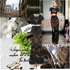 """""""Black lace"""" by virna on Polyvore"""
