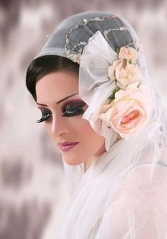 Arbabic wedding hijab
