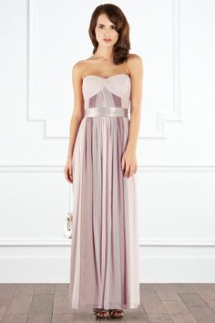 Nude and #pastel tones in this gorgeous Lavendar maxi from Coast-stores - a perfect #bridesmaid dress!