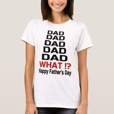 4aca11f2d72 Happy Fathers Day T-Shirt Father s Day T Shirts