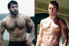 10 Sexiest Shirtless Superheroes: 'Man Of Steel' Henry Cavill & More
