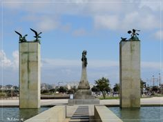 portugal-povoa-de-varzim Portugal Country, Azores, Portuguese, Statue Of Liberty, Road Trip, Villa, Wanderlust, Bucket, Places