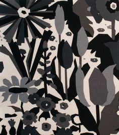 Alexander Henry Cotton Fabric-Keely Black Tea