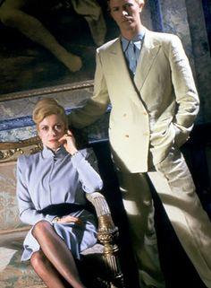 Catherine Deneuve & David Bowie in The Hunger