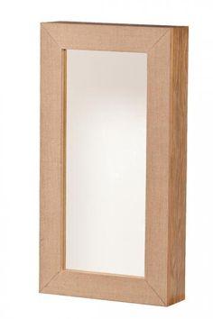 Ellison Wall Jewelry Mirror - Wall Jewelry Armoire - Wall-mounted Jewelry Armoire - Mirrored Jewelry Armoire | HomeDecorators.com
