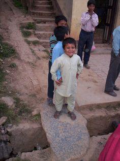 Gyerekek Katmanduban