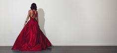 Rosemary Cherry Red Dress