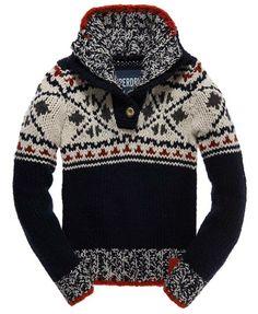 Superdry Hipster Henley - Knitwear voor Dames