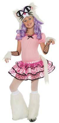 girls cat costumes   mee oow cat costume kids costumes this fun girls mee oow cat costume ...