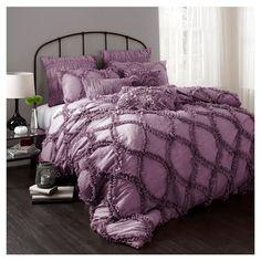 Found it at AllModern - Riviera 3 Piece Comforter Set in Purple  Lexie's bedroom