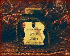 Sacral Chakra Ritual Incense by TheSageGoddess, $18.00