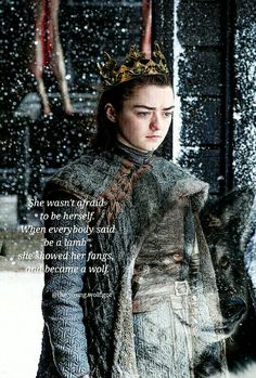 Arya, the queen in the north