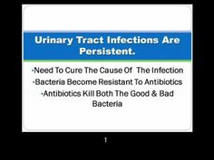 Natural Remedy To Cure Urinary Tract Infections and Bladder infections FULL thi - YouTube