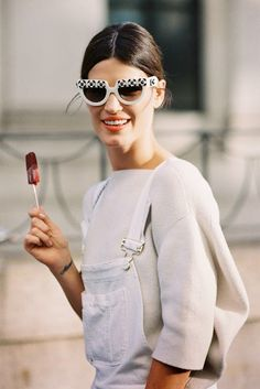Hanneli Mustaparta Spring Whites, Sunglasses   Spring Street Style
