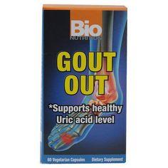 Bio Nutrition Gout Out (60 Veg Capsules)