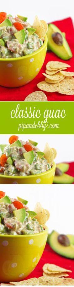 Classic Guacamole - my go-to guac recipe!