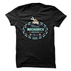 Awesome Tee Diesel Mechanics Have Bigger Tools Great Gift For Any Mechanic T-Shirts