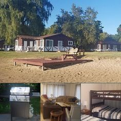 10 guests   8 beds   3 bedrooms   2 baths This Lake Huron #bookdirect cabin rental is everything you need for a scenic and cozy getaway in Michigan. See details:
