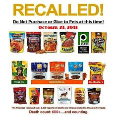 35 Best Pet Food Recalls Images On Pinterest Food Recalls Pet