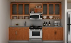 Admirable Ikea Kitchen Designs With Wooden Base And Wall Kitchen Cabinet Unify Glass Doors Also Open Shelving Racks Organizer Oven Microwave Featuring Stylish Kitchen Utensils Decor Ideas. Hanging Kitchen Cabinets, Ikea Kitchen Storage, Simple Kitchen Cabinets, Ikea Kitchen Remodel, Ikea Kitchen Design, Kitchen Cabinet Styles, Hanging Cabinet, Kitchen Ideas, Open Kitchen