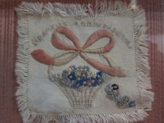 Needlework - concentration camp -- National Museum of the Mighty Eighth Air Force - Savannah GA