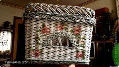 Поделка изделие Плетение Немного наплелось   Трубочки бумажные фото 19