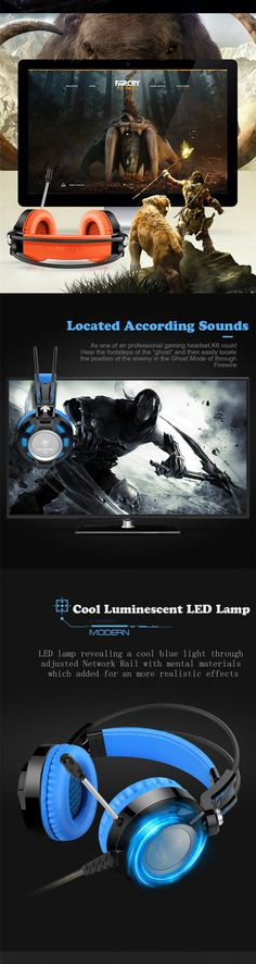 Headphones Nubwo K6 Gaming Headsets with Microphone Surround Sound Noise Cancell Glowing LED Light USB for PC Computer Game Blue  http://playertronics.com/products/headphones-nubwo-k6-gaming-headsets-with-microphone-surround-sound-noise-cancell-glowing-led-light-usb-for-pc-computer-game-blue/