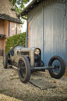 Richard Scaldwell's JAP V8-Powered GN Cycle Car