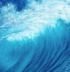 wave underwater hawaii