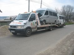 IVECO Daily tow trucks for sale, recovery vehicle, wrecker truck from Romania, buy tow truck, AA12599
