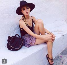 Summer Outfit {Mykonos} | Kristina Bazan
