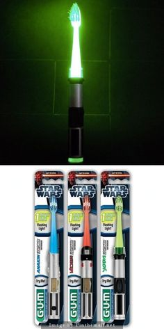 Star Wars toothbrush.