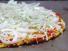 Cauliflower crust pizza: useful low carbohydrate recipe (would this also be low GI??)