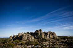 Rocky outcrop on top of Mount Wellington. Wide angle lens adds drama,  tips on uses for different types of lenses http://aviewfinderdarkly.com.au/2011/07/24/different-types-of-lens-and-their-uses/