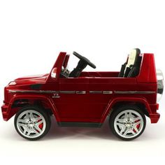 2017 Licensed Mercedes G65 AMG Electric Kids Ride-On Car, MP3 Player, AUX  Input, Rubber Tires, PU Leather Seat With 5 Point Safety Harness, 12V Battery Powered, Parental Remote | Red