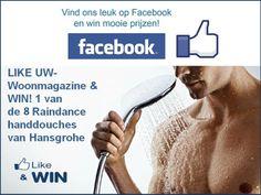 Winactie badkamer: win een raindance select E20 handdouche van Hansgrohe met UW-woonmagazine #winactie