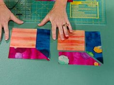 Learn to make an y-seam block with these easy-to-follow instructions, and you'll be well on your way to creating an Attic Windows quilt.