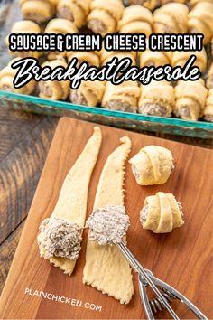 Best Breakfast Casserole, Breakfast Bites, Chicken Breakfast, Brunch Recipes, Appetizer Recipes, Brunch Foods, Meat Appetizers, Brunch Dishes, Best Breakfast Recipes