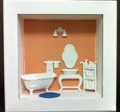 Quadro cenário: banheiro!