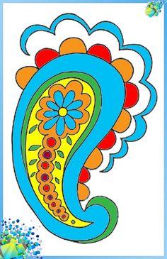 Пейсли индийский огурец стекло витраж роспить витражей витражными красками