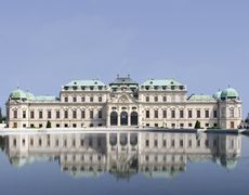 © © Belvedere Palace and Museum, Vienna Museum, Vienna Austria, Palace, Louvre, Vacation, Mansions, House Styles, Building, Travel